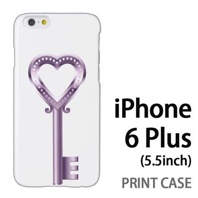 iPhone6 Plus (5.5インチ) 用『0113 恋の鍵 銀』特殊印刷ケース【 iphone6 plus iphone アイフォン アイフォン6 プラス au docomo softbank Apple ケース プリント カバー スマホケース スマホカバー 】の画像