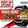 Garmin fēnix® 5s/5/5S-5-5X Sapphire/1 year local warranty