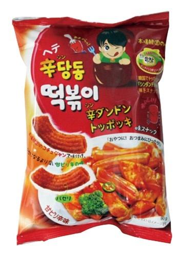 『ヘテ』辛ダンドントッポキ(75g)[シンダンドン トッポギ][スナック][韓国お菓子][韓国食品]の画像