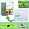 【Fuji Xerox】Everyday A4 70gsm Xerox (green/white wrapper) photocopy papers. 1 Carton / 5 x RIMS