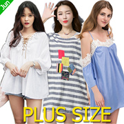 【24 Jun Update】600+ Styles 80% Off !Crazy Promotion! 2017 Plus Size Dresses Tops Blouses