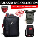 [Free Ongkir*] Original PALAZZO (banyak Varian) Tas Slempang Pria Tas Pinggang Pria Backpack Tas Laptop Sporty Style