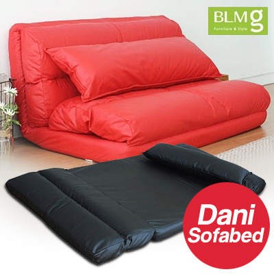 Qoo10 blmg sg dani sofabed sofa bed furniture chair for Cheap home furniture singapore
