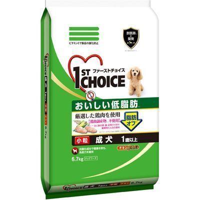 アース・バイオケミカル(ペットフード)ファーストチョイス低脂肪成犬用チキン小粒6.7kgE426084H