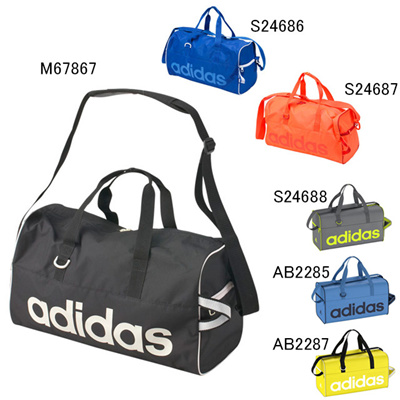 アディダス (adidas) リニアPERチームバッグS DEZ44 [分類:ボストンバッグ]の画像