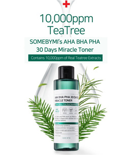 SOME BY MI AHA BHA 30 DAYS MIRACLE TONER: 6 sold: Rating: 4