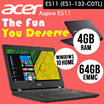 [$278 Limited Set] Acer Aspire ES11 ES1-132