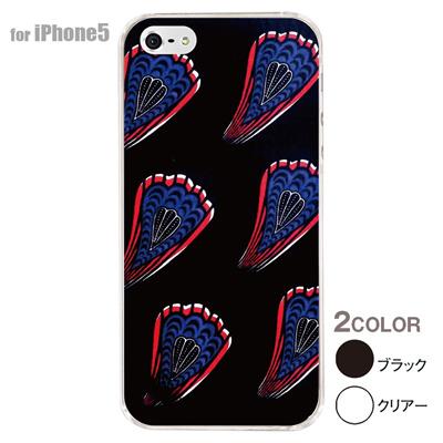 【iPhone5S】【iPhone5】【アルリカン】【iPhone5ケース】【カバー】【スマホケース】【クリアケース】【その他】【アフリカン テキスタイルパターン】 01-ip5-con023の画像