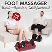 ☆Foot Massager☆Strong power.Multifunction Relieve fatigue.omfortable to custom / massager/Blood circulation / Fatigue.Give yourself / family / friend the best gift~!
