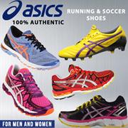 ASICS 100% AUTHENTIC- FOR MEN AND WOMEN/ RUNNING/SOCCER