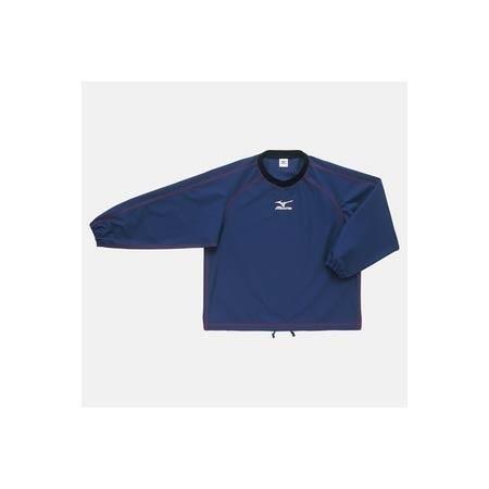 【クリックで詳細表示】ミズノ(MIZUNO) タフブレーカーシャツ A60WS82014 ネイビー 【メンズトレーニングウェア ウインドブレーカー アスレ】