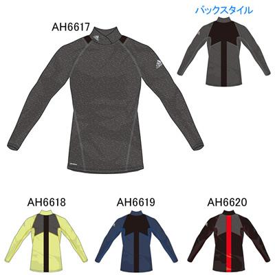 アディダス (adidas) X RengiPremier 姿勢制御 ハイネックベースレイヤー長袖 BCJ68 [分類:サッカー インナーシャツ]の画像