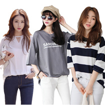 韓国ドレス/ノースリーブ長袖半袖ドレス/キャリア/レジャー/シフォン/レース/パンツ/ブラウス
