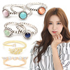 The Best Selling Fashion Rings Made in Korea / Luxury Jewerly / Cubic Zirconia / Crystal / Korean Styles / Birthday Gifts / Free Size / Accessories / Jewelry / Valentine Gifts