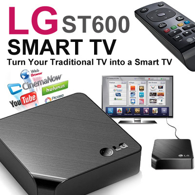 Qoo10 lg st600 smart tv upgrader with web browsing new for Camera tv web