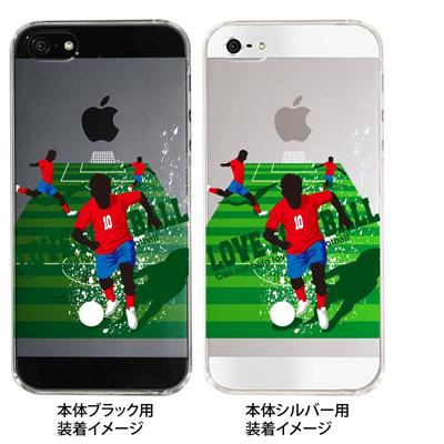 【iPhone5S】【iPhone5】【サッカー】【コリア】【iPhone5ケース】【カバー】【スマホケース】【クリアケース】 10-ip5-spo-11の画像