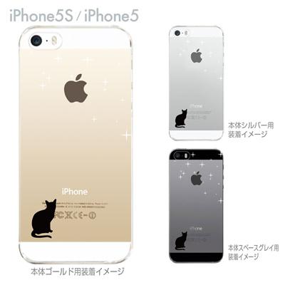 【iPhone5S】【iPhone5】【iPhone5sケース】【iPhone5ケース】【カバー】【スマホケース】【クリアケース】【クリアーアーツ】【ネコ】 22-ip5s-ca0086の画像