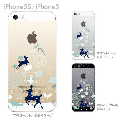 【iPhone5S】【iPhone5】【Clear Arts】【iPhone5sケース】【iPhone5ケース】【カバー】【スマホケース】【クリアケース】【クリアーアーツ】【クリスマスツリー】 08-ip5s-ca0104の画像
