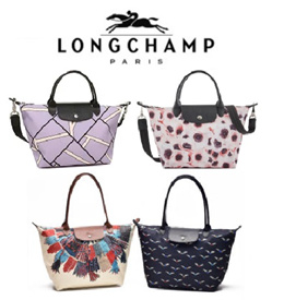 1Day Promo LONG CHAMP Le Pliage Classic Nylon Totes Neo Series 1512/1515/2605/1899 Made In France
