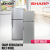 SHARP REFRIGERATOR SJD26TSL / SJD34TSL / SJD38TSL / SJD42TSL / SJD29E-SL / SJD32E-SL [Multi Model]