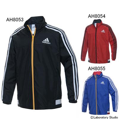 アディダス (adidas) ジュニア 強ブレ ウインドジャケット BCS89 [分類:ウインドブレーカー 上 (ジュニア)] 送料無料の画像