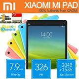 ★[5 Colors]★ SG LOCAL Shop! XIAOMI Mi Pad MiPad 2GB + 16GB 64GB Nvidia Tegra K1 Quad Core 7.9inch IPS 326PPI Bluetooth 4.0 Sony Camera Smart Tablet PC WI-FI wifi Support 128gb