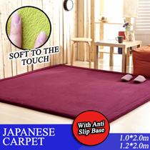 Japanese Thick Carpet / Fleece Carpet BIG Size! | Thick Floor Mat | Various Colours | Door mat