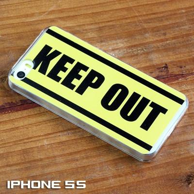 特殊印刷/AQUOS PHONE(SH-04G)(SH-03G)(SH-07E)(SH-04E)(SH-01E)(SH-06E)(SH-02E)(SH-01F)(SH-01G)(SH-04F)(SH-02F)(KEEP OUT 立入禁止)CCC-110【スマホケース/ハードケース/カバー/aquosphone si/sh07e】の画像