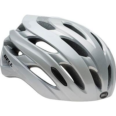 ベル(BELL) ヘルメット EVENT / イベント ROAD SPORTS ホワイト/シルバーロードブロック 【自転車 サイクル レース 安全 二輪】の画像