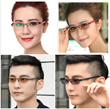 FRAME WITH TRANSITION LENS *FREE SHIPPING *FLAT RATE * NO HIDDEN COST *FREE GIFT  o-o