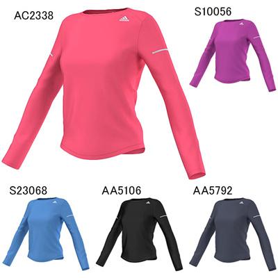 アディダス (adidas) レディース SQ ランニング 長袖 Tシャツ ITQ14 [分類:長袖Tシャツ (レディース)]の画像