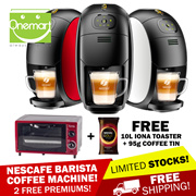 [NESCAFE BARISTA] Free IONA Oven Toaster 10L + 95g COFFEE TIN ★ GOLD BLEND Barista Coffee Machine