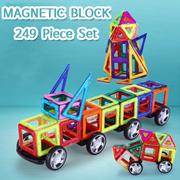 마그네틱 블럭 249피스 셋트 / 자석 블럭 / 어린이 완구/장난감/완구/문구/두뇌발전퍼즐/블럭/