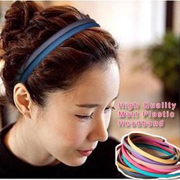 「mixshop.sg」 ★ Hairband Headband ★ High Quality  / Matt plastic