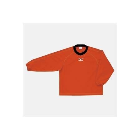 【クリックで詳細表示】ミズノ(MIZUNO) タフブレーカーシャツ A60WS82062 レッド 【メンズトレーニングウェア ウインドブレーカー アスレ】