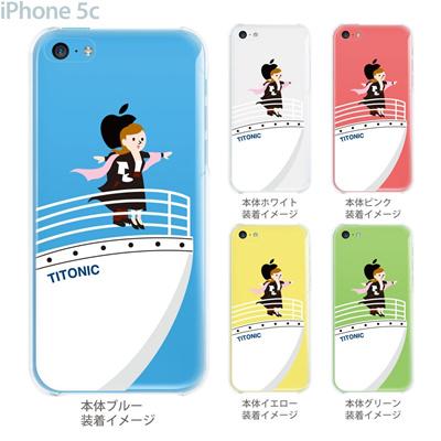 【iPhone5c】【iPhone5c ケース】【iPhone5c カバー】【ケース】【カバー】【スマホケース】【クリアケース】【クリアーアーツ】【MOVIE PARODY】【タイニイク】 10-ip5c-ca0031の画像