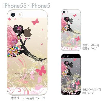 【iPhone5S】【iPhone5】【iPhone5sケース】【iPhone5ケース】【カバー】【スマホケース】【クリアケース】【クリアーアーツ】【フェアリー】 22-ip5s-ca0095の画像