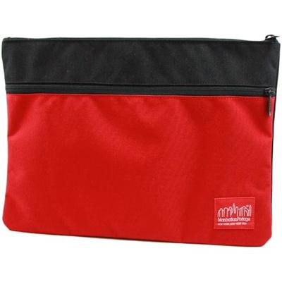 マンハッタンポーテージ(Manhattan Portage) シティクラッチ Citi Clutch MP1085 BLACK/RED ブラック レッド 【クラッチバッグ】の画像