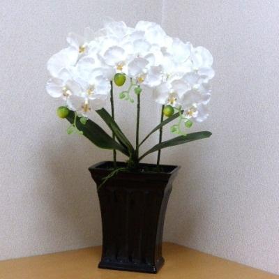 ●代引き不可送料無料胡蝶蘭コチョウラン 造花の画像