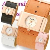 【国内配送】【人気ブランド】AlessandraOlla アレサンドラオーラ 腕時計 レディス腕時計 Alessandra Ollaアレサンドラオーラ 肌に優しい天然皮革 本革ベルトの画像