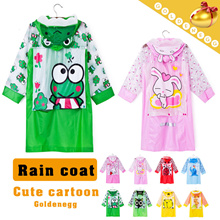 Cute cartoon design▶Rain coat for kids◀ carefully selected material for your kids-bring rain day pleasure