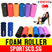 ▶SG◀ Premium Quality FOAM ROLLER with Strong PVC Pipe BLACK Inner Core / Not Cardboard / Deep Tissue Massage / Rumble Roller / Flexi Grid / Self Myofascial Release / Fast SG Delivery / SPORTSCO.sg