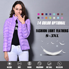 No Hidden Price▶ULTRA LIGHT DOWN-Stylish Winter Slim Down Jacket for Women◀GAA GDC-Lightweight Winter Coat/ Outdoor Jacket/ Winter MUST Have Items/ S~3XL Sizes n 14 colors