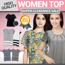 Blouses Collection  [Pemium Quality] 20+ styles   Flower Blouse sleeve  Shiffon Sleeve Collar Blouses