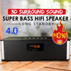 ◇ High-power Bluetooth speaker  New update new type more powerful tone quality ultra-long