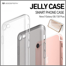 Mercury Clear Jelly Case★New Galaxy S8/Plus/LG G6/Galaxy J7 Prime/A3/A5/2017/Galaxy S7/Edge/S6/Note5