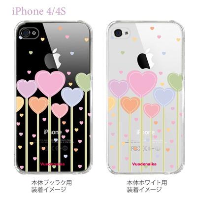 【Vuodenaika】【iPhone4/4Sケース】【カバー】【スマホケース】【クリアケース】【フラワー】 21-ip4-ne0022caの画像