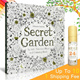 Up To 10、1 Shipping Fee~▶Secret Garden Colouring Book-비밀의 정원-秘密花园-Enchanted Forest-신비의 숲-An Inky Treasure Hunt and Coloring Book◀English version、Korean version、 Chinese version中文版 3 language version