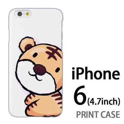 iPhone6 (4.7インチ) 用『0723 干支 寅』特殊印刷ケース【 iphone6 iphone アイフォン アイフォン6 au docomo softbank Apple ケース プリント カバー スマホケース スマホカバー 】の画像