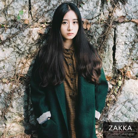 【送料無料】【即納】 ZAKKA  人気 新型 韓国ファッション ダウンコート ロングコート モッズコート ダッフルコート  コート レディース 大きいサイズ ムートンコート 韓国 コート チュニッ